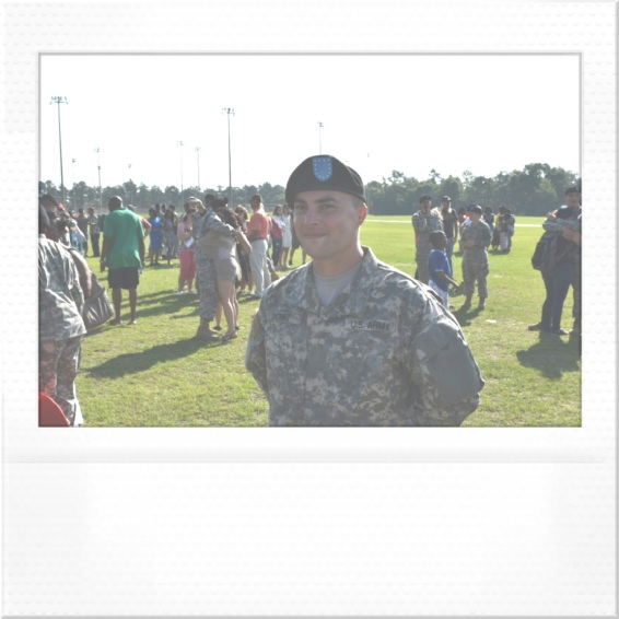 Eldest son graduates Basic training
