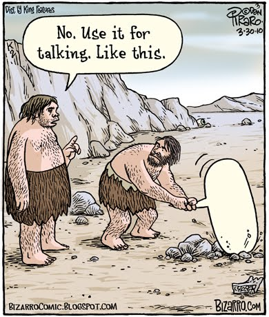 Grammar-cave men