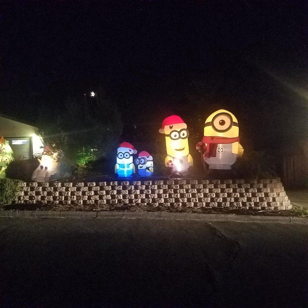 El Cajon, California, Christmas, holiday decorations